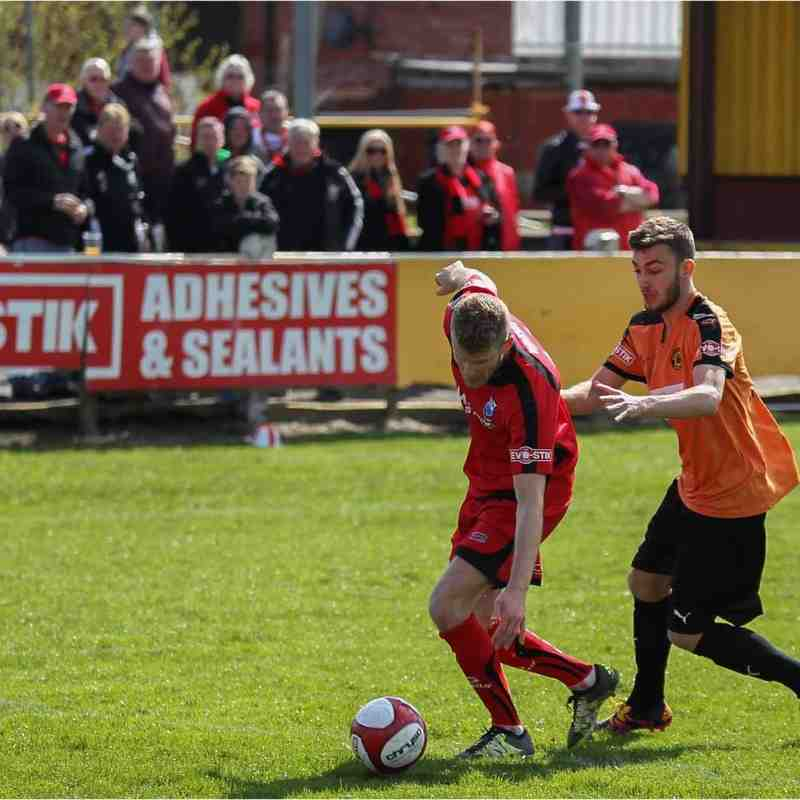 Prescot Cables 1-1 Bamber Bridge 23/04/2016