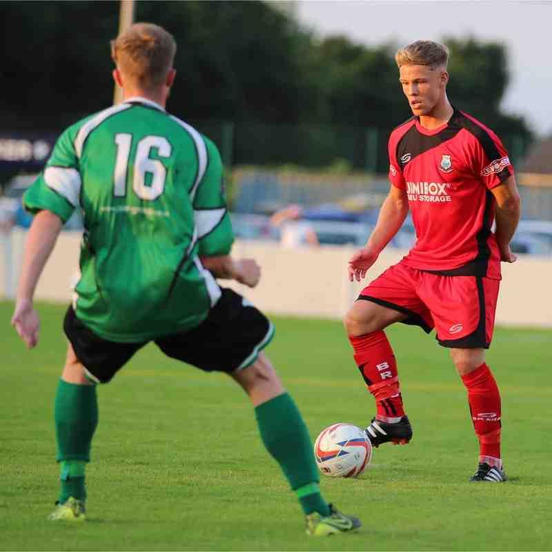 Charnock Richard 4-7 Bamber Bridge FC 19/07/2016