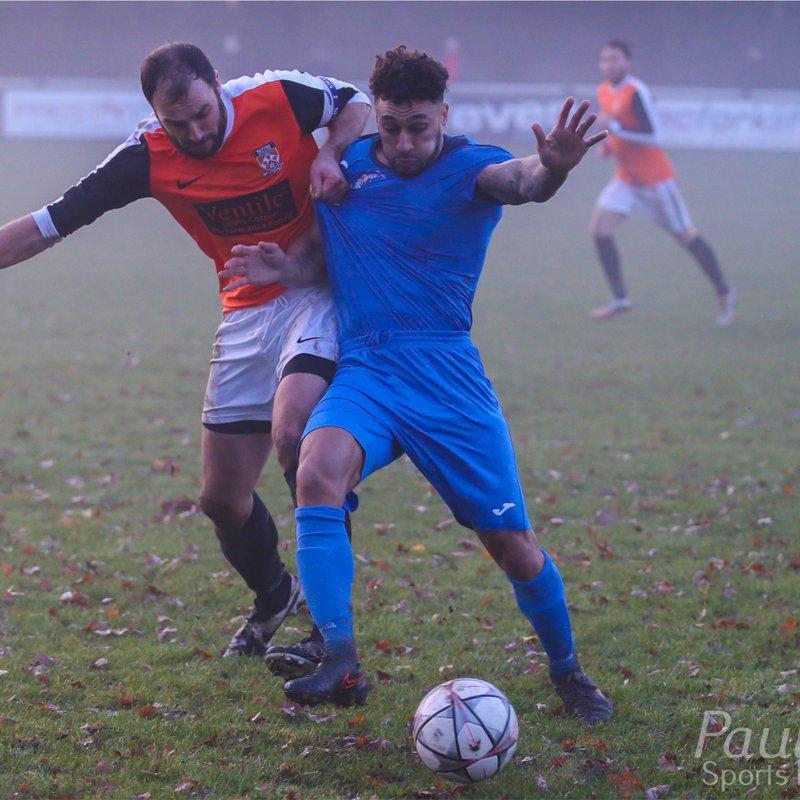 Euxton Villa 1-3 Longridge Town 17/12/16
