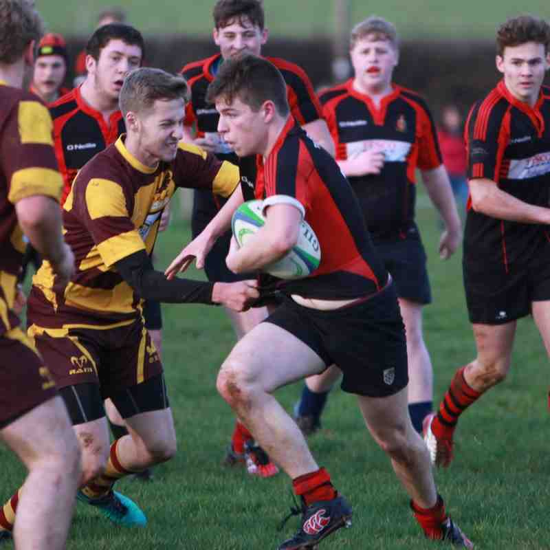 Colts v Okehampton 17th Dec 16