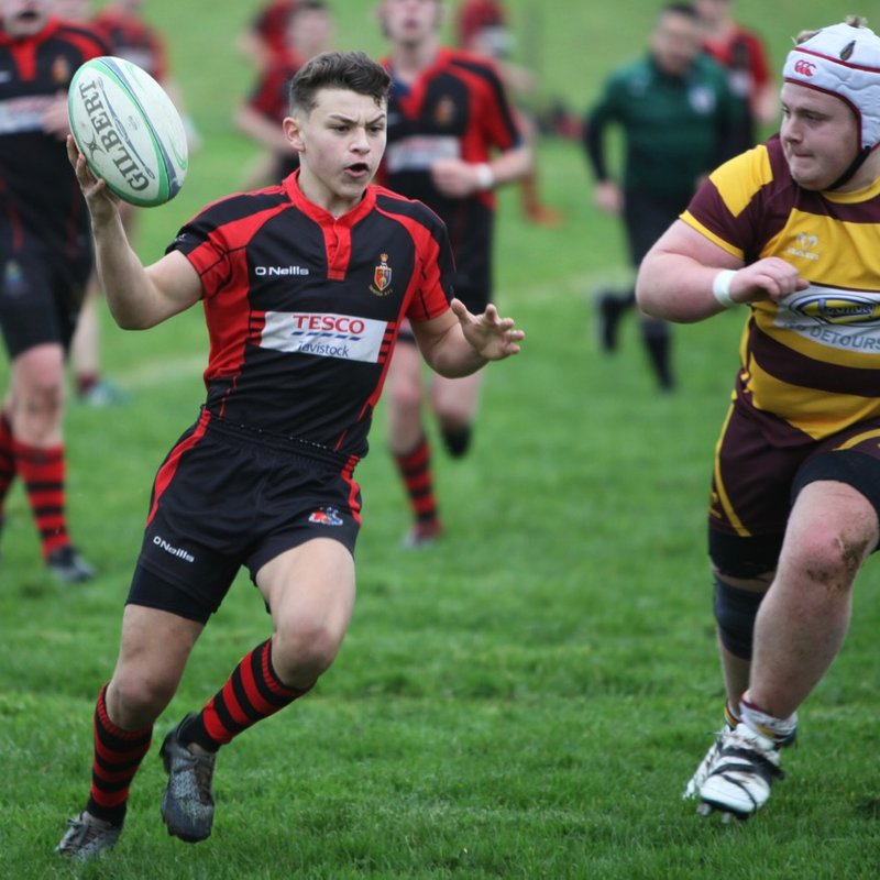 Colts XV beat Okehampton 19 - 17