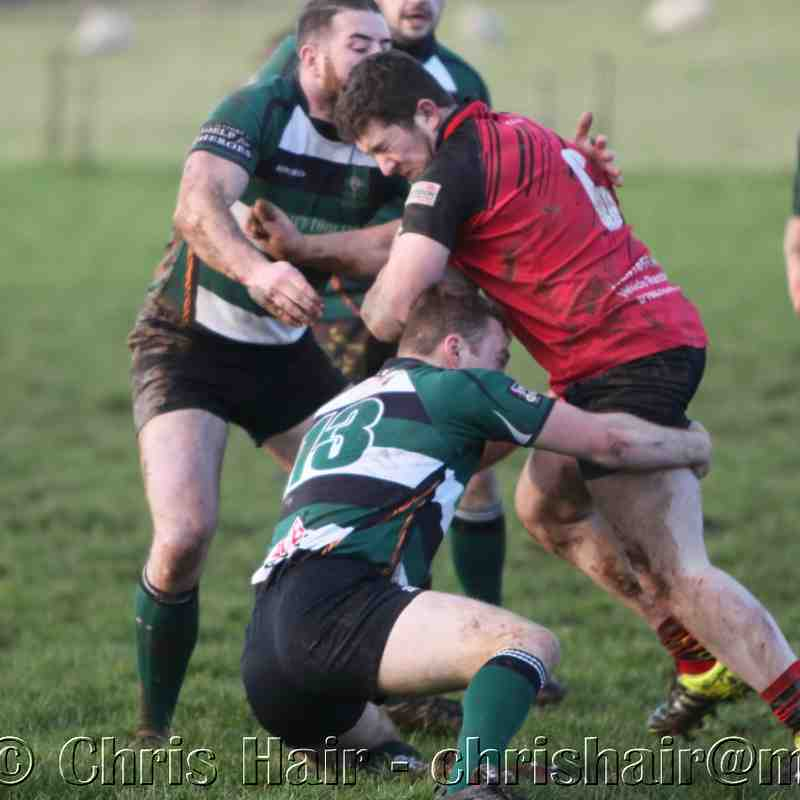 TRFC Firsts 5 v Plymouth Argum 12 - 6th January 2018