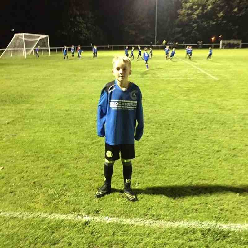 First ever game under floodlights at The Rotherfield 27/9/16