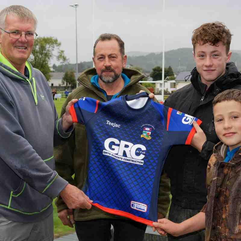 Kit newydd Tim Cyntaf 2018-2019