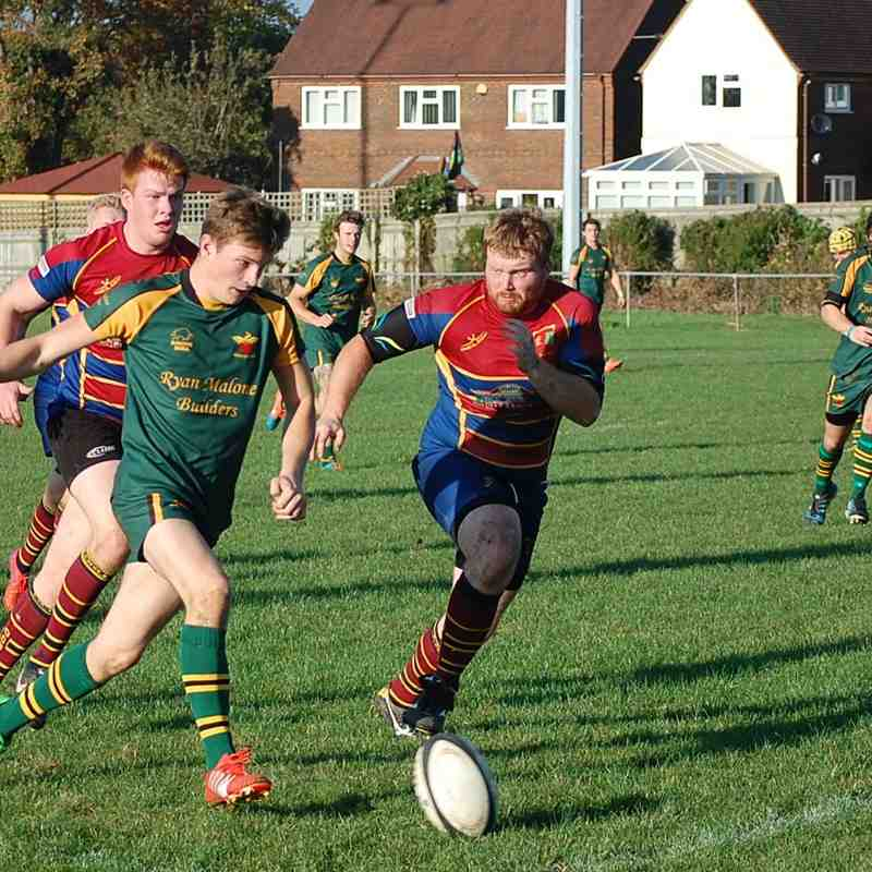 Newent 2nd XV v Old Cryptians 2nd XV 31.10.2015