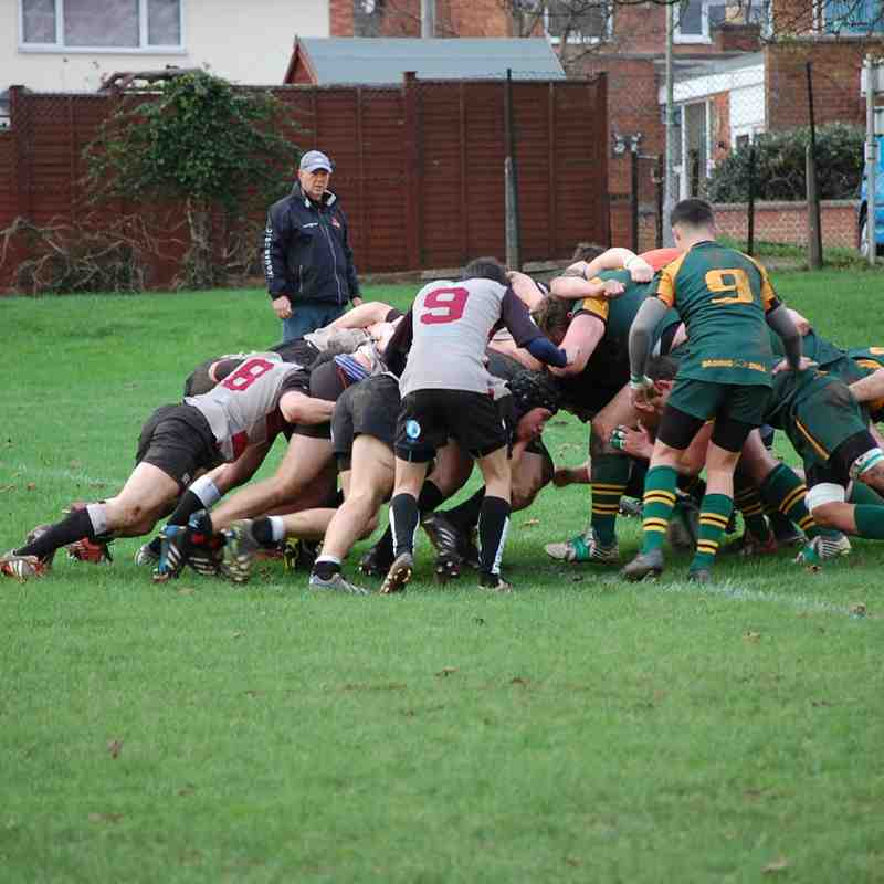 Newent 2nds XV v United Bristol Hospitals 2nds XV 05.12.2015