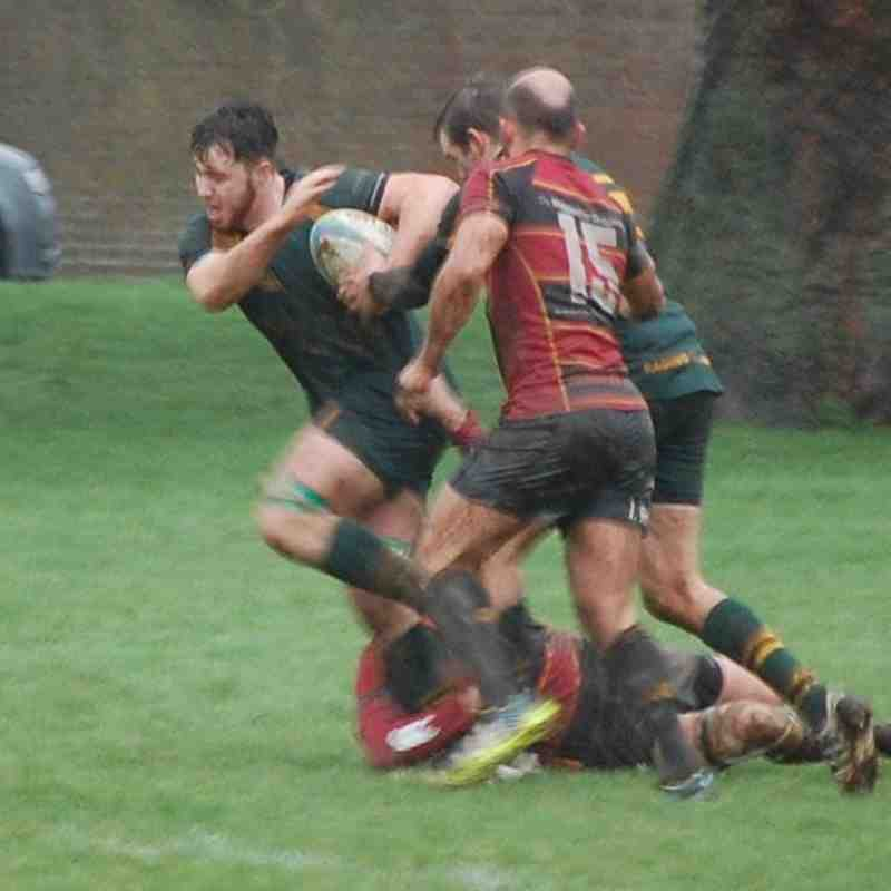 Newent 2nds XV v Cinderford Stags XV 06.02.2016
