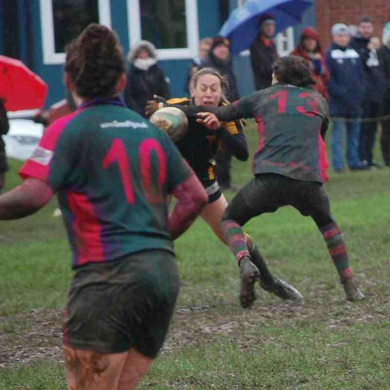 Newent Ladies XV v Drybrook Ladies XV Cup Match 07.02.2016