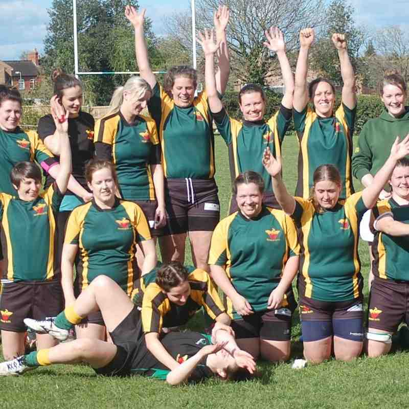Newent Ladies v Tewkesbury Ladies 17.04.2016
