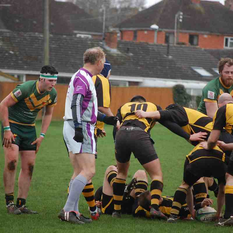 Newent 2nds XV  v Berry Hill 2nds XV 25.02.2017