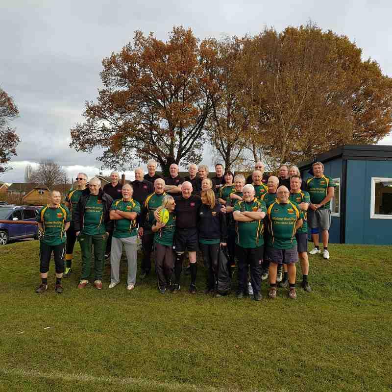 Newent RFC Walking team V Gloucester Walking team at the REC