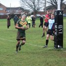 Newent front up in the cold to earn another try bonus win
