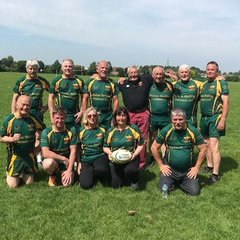 Newent Walking Rugby v Gloucester Walking Rugby 9th June 2018