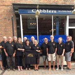 Newent Walking Rugby team - Sponsor- Cobblers