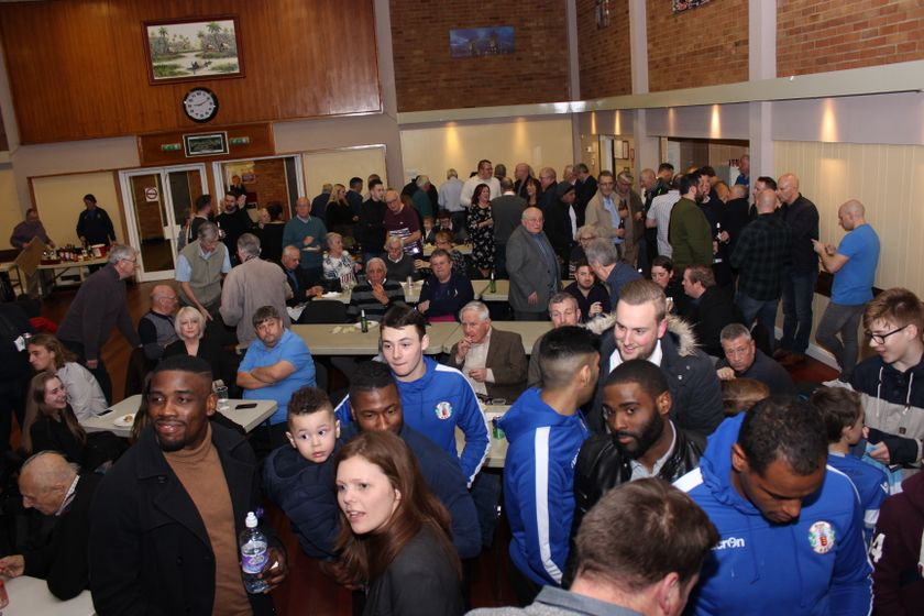 Supporter's Celebration Event - Friday 3rd February 2017