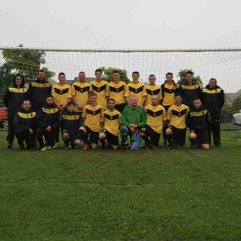 1st Team v Llanrug United - Sat  3 Sep 2016