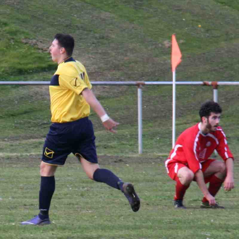 1st Team v Blaenau Ff Amateurs - Sat 22 Oct 2016
