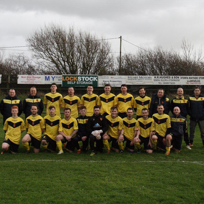 1st Team lose to Prestatyn Sports 5 - 0
