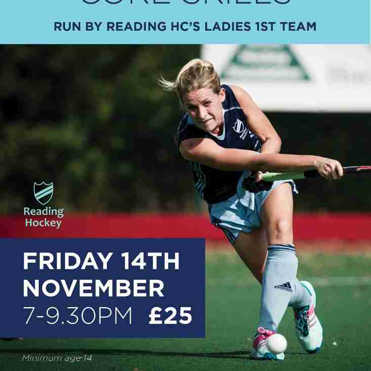 Masterclass - Core Skills by the Ladies 1's