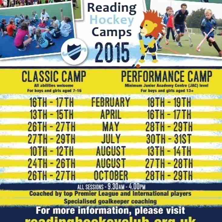2015 Camps