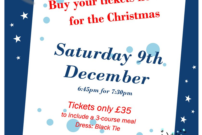 Christmas Dinner Tickets on Sale Now !