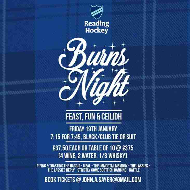 Burns Night 2018