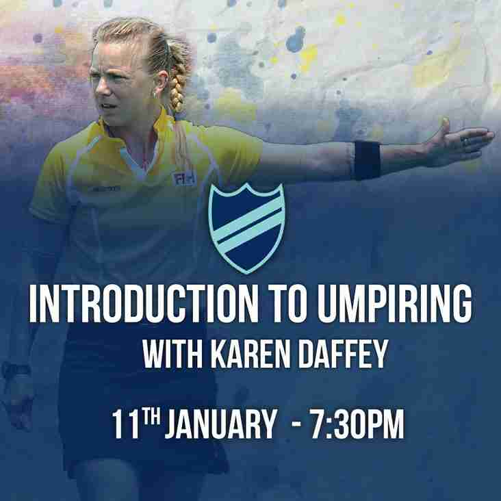 Introduction to Umpiring course