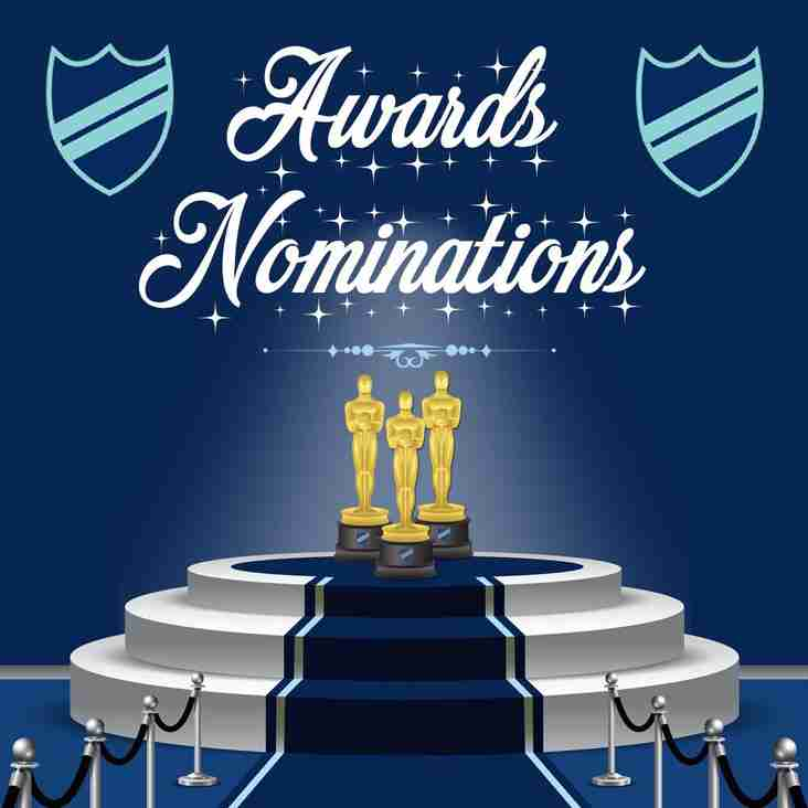 Ladies and Mens Awards Nominations for 2017 18 season
