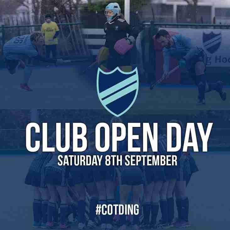 Club Day plus Open Air Cinema