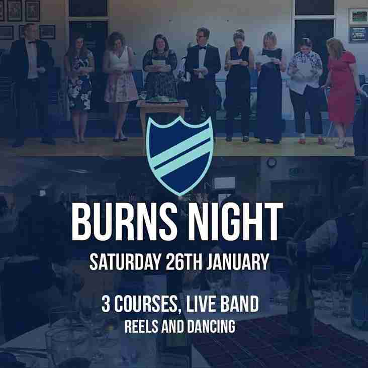 Burns Night at RHC