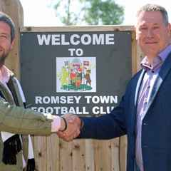 Romsey Town secure major Partner Sponsor