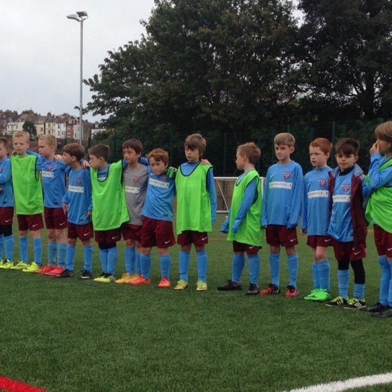 Under 12's Blue lose to Patcham United Phoenix U14 4 - 0