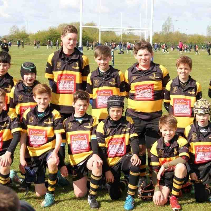 U11's Landrover Cup Northampton 30th April 2016