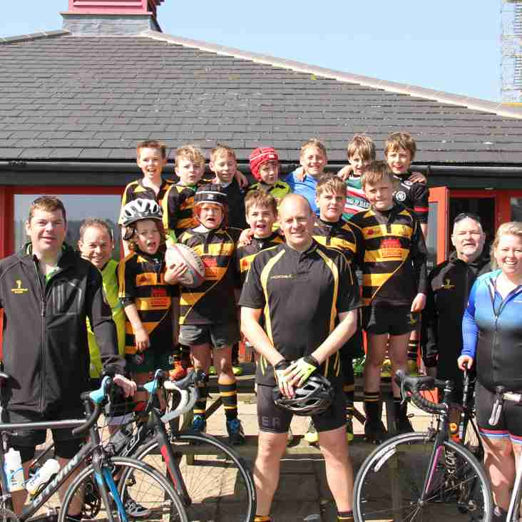 Rugby Coaches Swap Balls for Bikes