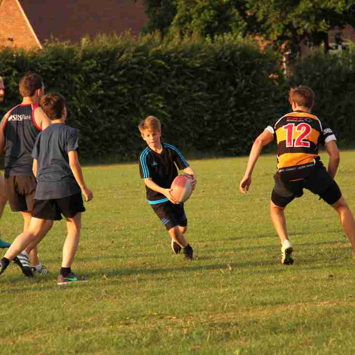 Summer Touch Rugby Kicks Off