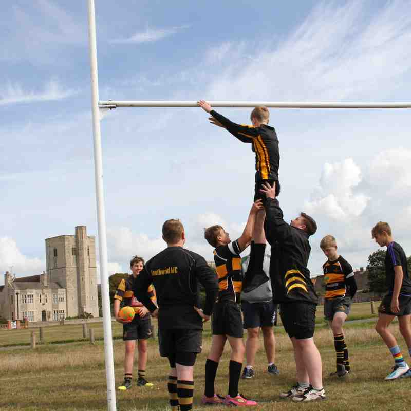 Line out U15's