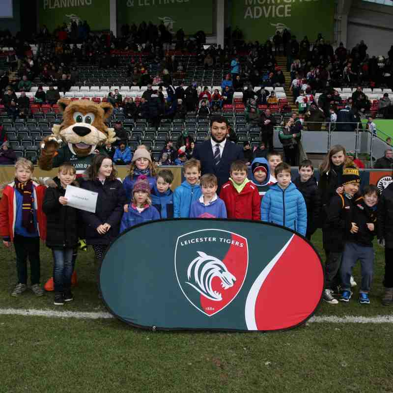 U9's Tour to Leicester Tigers 27.1.18