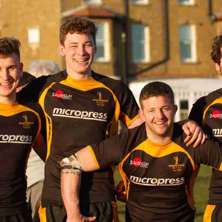 Southwold Rugby in playoff for promotion to London Division 2