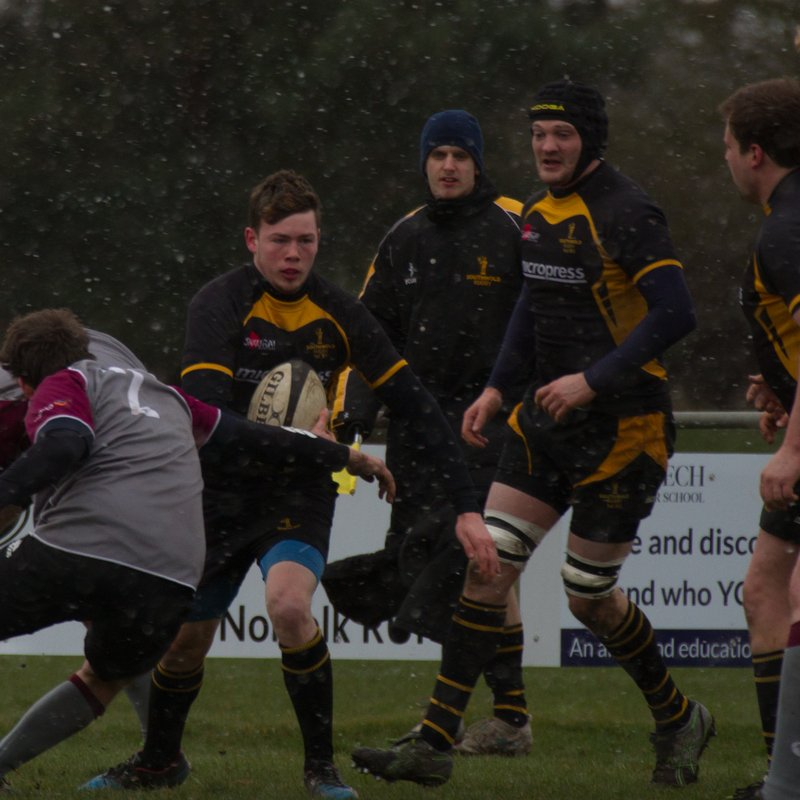 Wold Overwhelm West Norfolk As Both Teams Battle Arctic Conditions