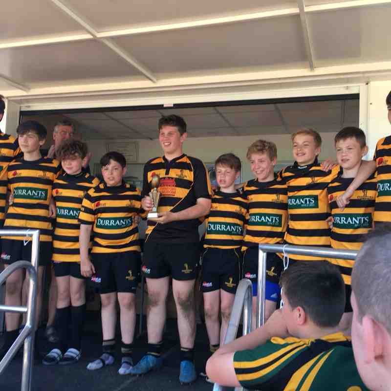 U13's Ipswich 7's Winners 5th May 2018