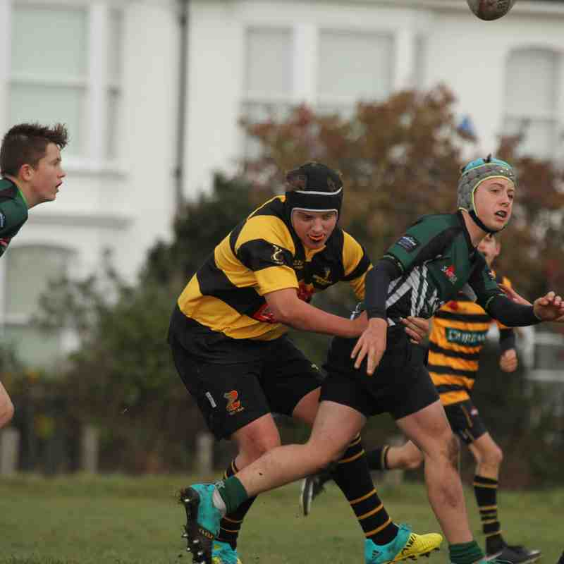 U14's v North Walsham 4.11.18