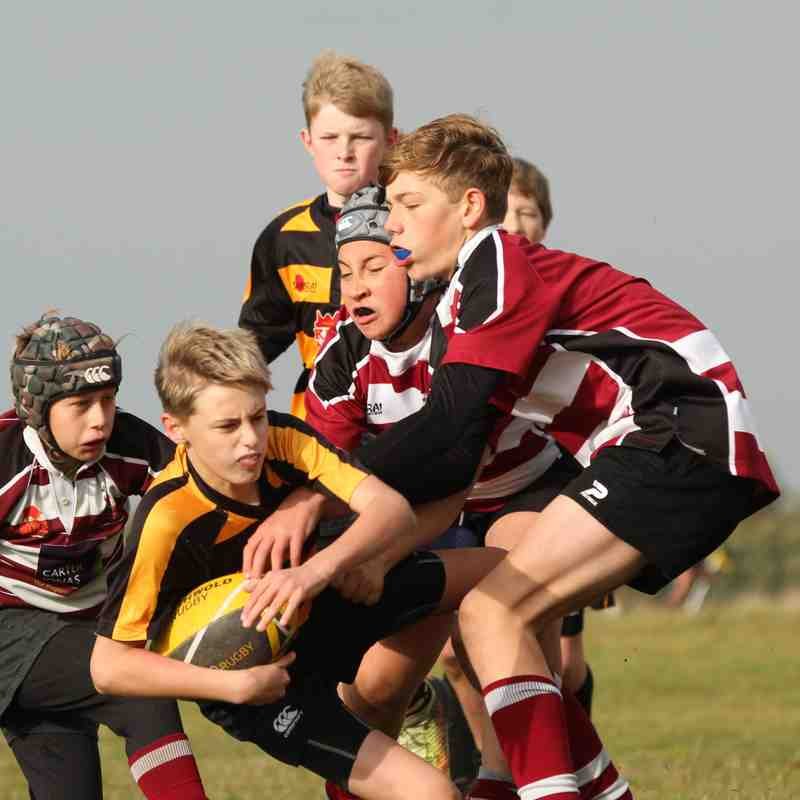 U12's v North Walsham 4.11.18