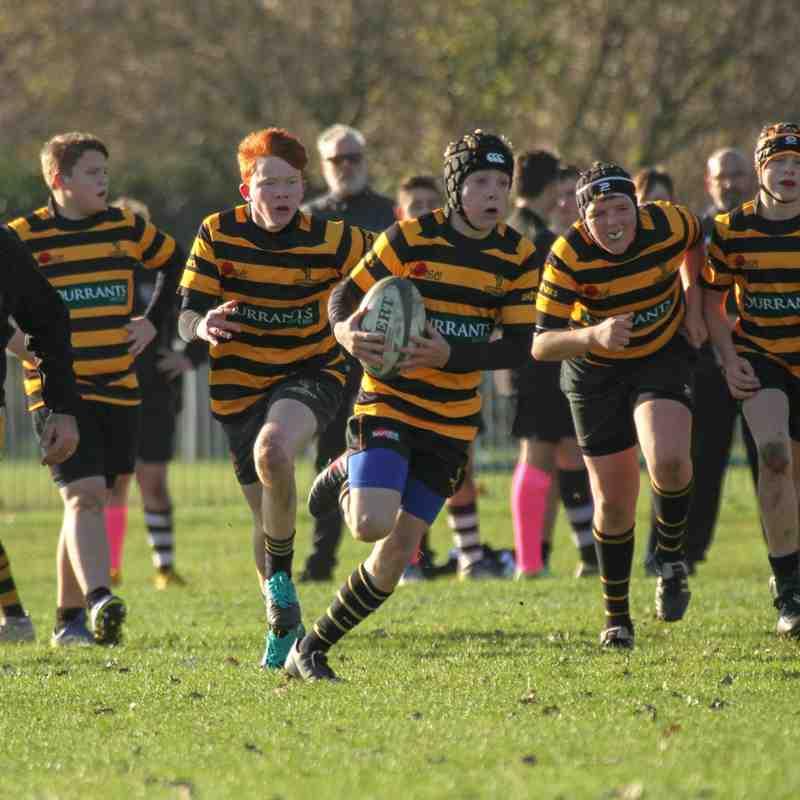 U15's v Felixstowe Suffolk Cup 18.11.18
