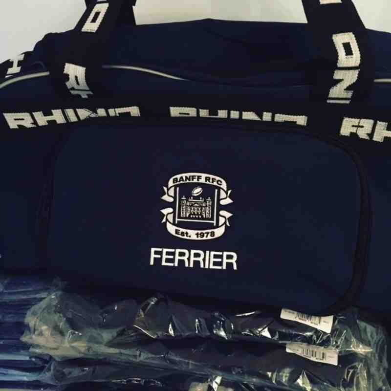 Banff RFC Player Kit bag