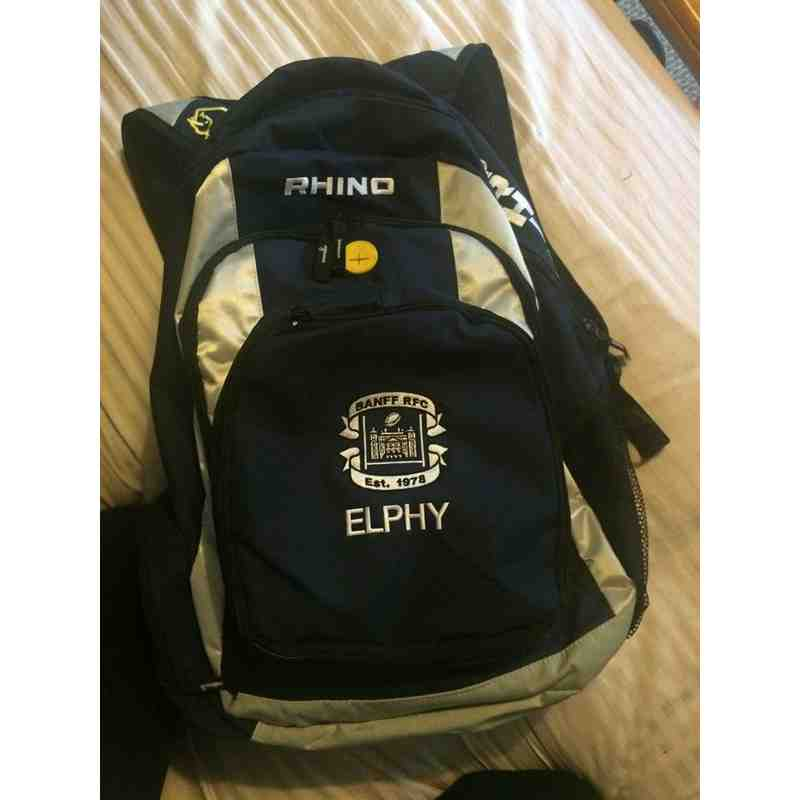 Banff RFC Players Rucksack