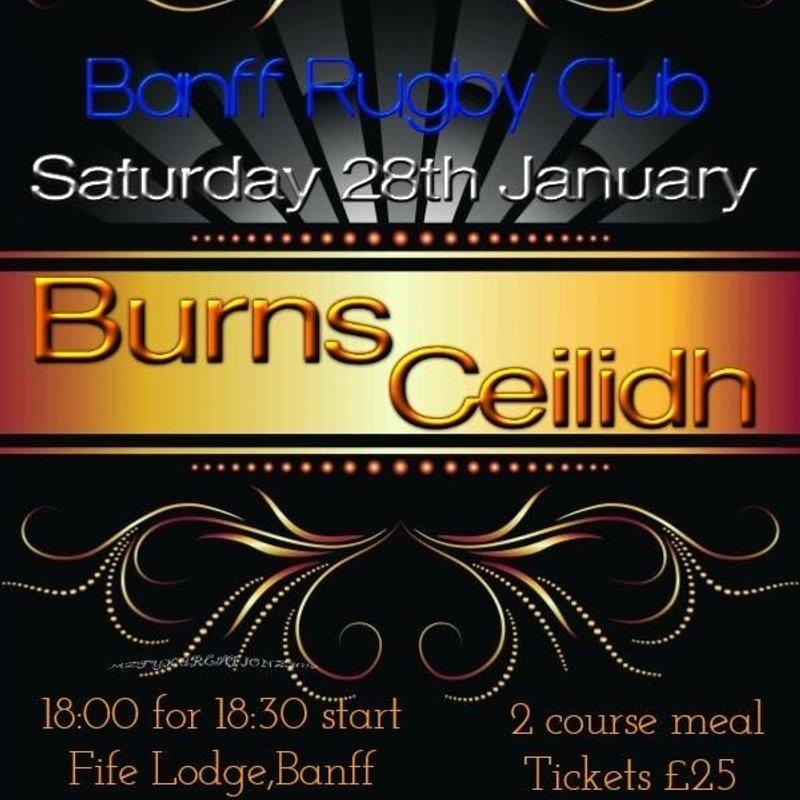 Banff Burns Night Ceilidh