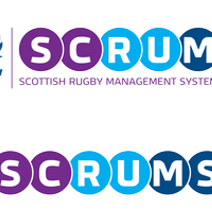 SCRUMS - New Player Management System introduced by SRU<