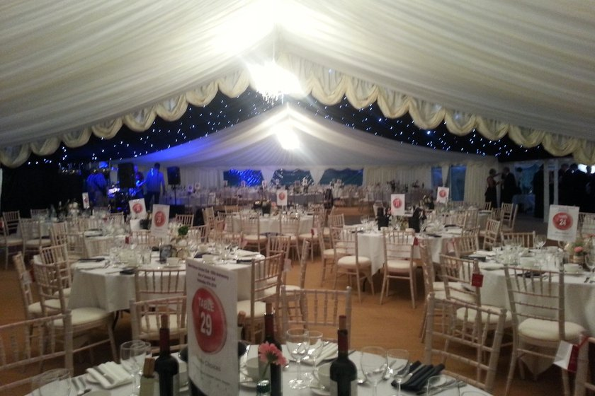 MARQUEE AT BGCC AVAILABLE FOR HIRE - FRIDAY 22ND SEPTEMBER