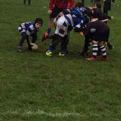 Under 10's away at Wigan