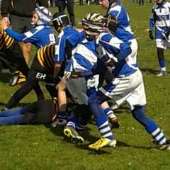 Under 10's away at Orrell